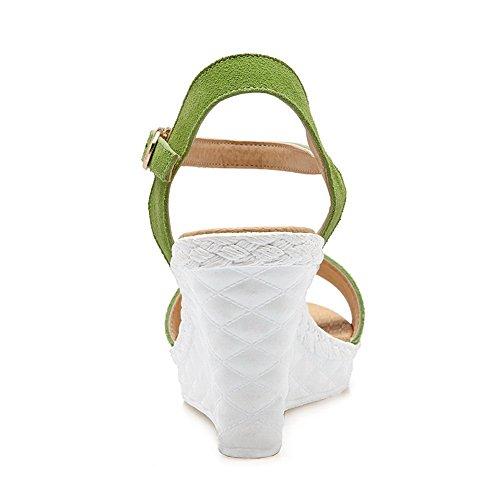 Sandales Femmes 1to9 Sandales De formes Mjs03266 Plates Vert Des Surdimensionné formes Nouveauté Plates Uréthane p5qxqWRXwr