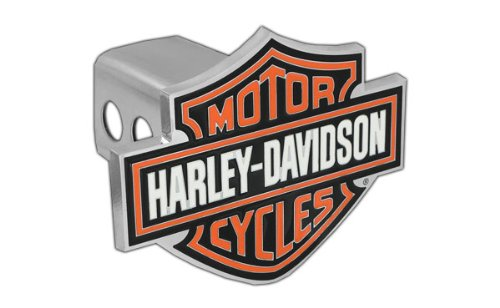 Harley-Davidson Orange Bar & Shield Trailer Hitch Cover 2'' HDHC25 (Harley Davidson Hitch Cover)