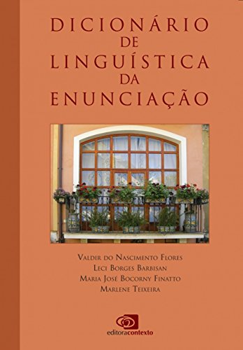 Dicionário de Linguística da Enunciação