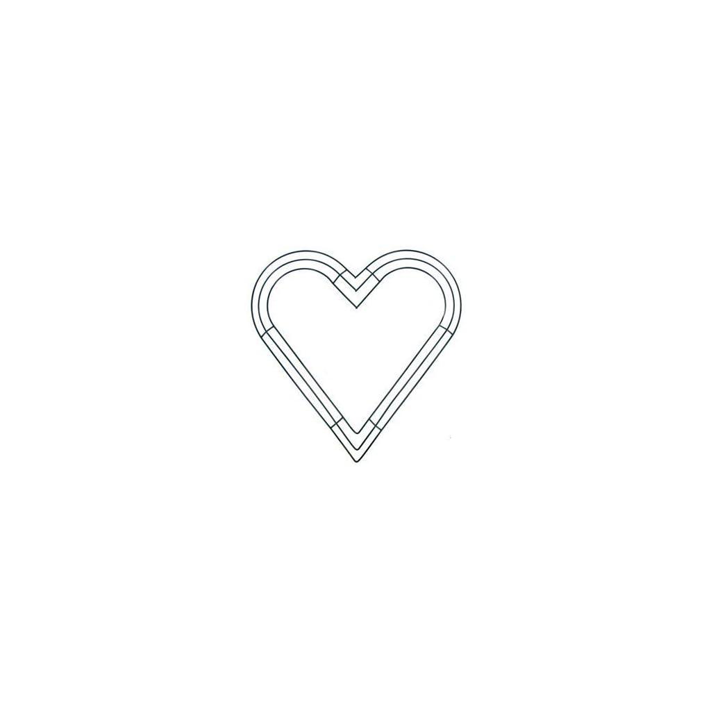12-Green-Heart-Shaped-Box-Style-Wreath-Frame