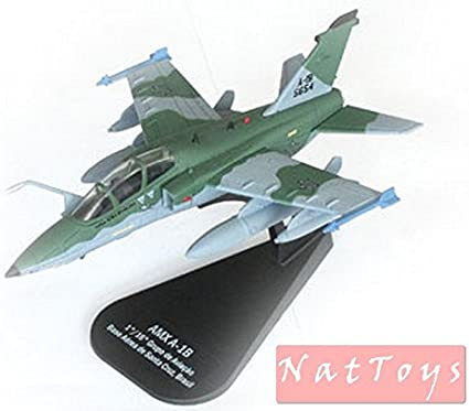 AMX A-1B DIE CAST 1:100 Aereo Italeri Airplane MODEL Avion