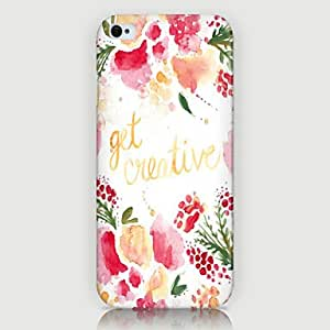 WQQ Ink Wash Painting Pattern Back Case for iPhone5/5s