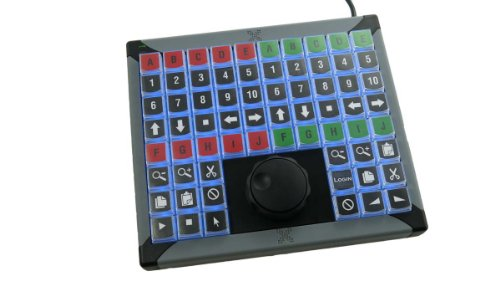 X-keys XK-68 USB Keyboard +Jog and (Jog Shuttle Keyboard)