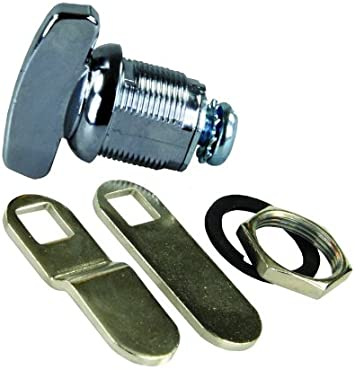 Prime Products 18-3060 RV Trailer Camper Hardware Thumb-Operated Cam Lock 5//8