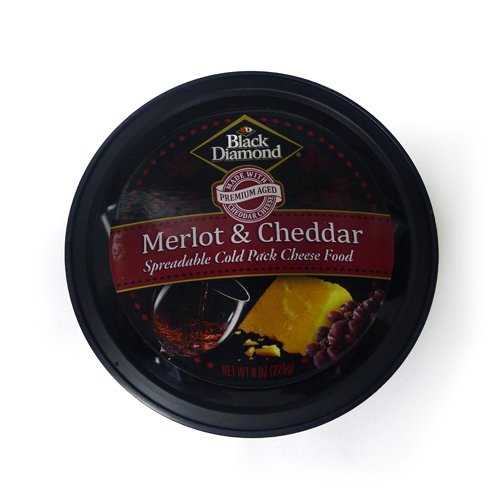 - BLACK DIAMOND Cheese Spread Cheddar Merlot, 8 oz
