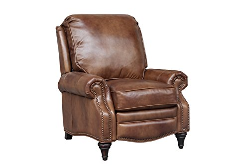 Cheap BarcaLounger Avery 7-2160 Push Back Manual Push Back Recliner Chair – 5702-85 Wenlock Tawny All Leather