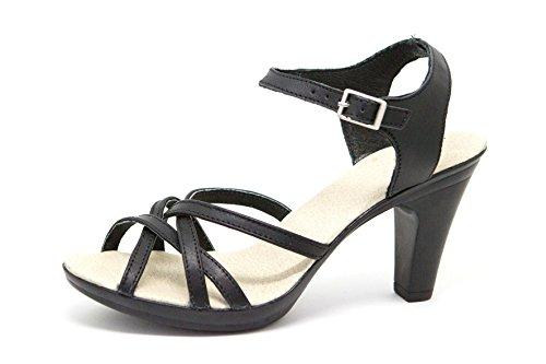 Dames Noir Ks Pour Le D'été Chaussures 163 Femmes Sandales 7xxzq54w