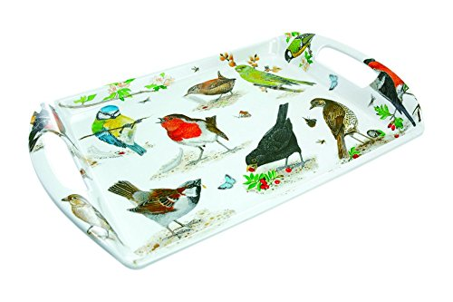 Roy Kirkham Garden Birds Medium Melamine Tray ()