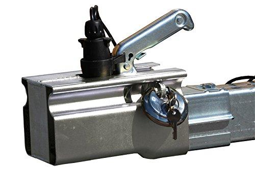 Sistema antirrobo para coches y remolques, dispositivo y candado The Drive 11161-01