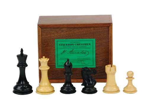 - Fischer Spassky Ebonized Chess Set by Jaques London
