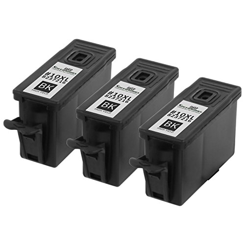 Speedy Inks - 3PK Compatible Kodak 10 #10XL 8237216 Pigment Black Ink Cartridge for use in EasyShare 5100, EasyShare 5300, EasyShare 5500, ESP Office 6150, ESP 3, ESP 5, ESP 7, ESP 9, ESP 3250 (Black 5500 Ink)