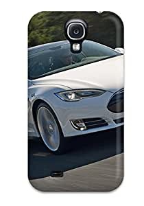 Premium Case For Galaxy S4 Eco Package Retail Packaging Tesla Model S 4