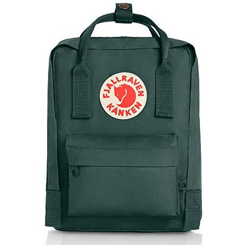 (Fjallraven Women's Kanken Mini Backpack, Forest Green, One Size)