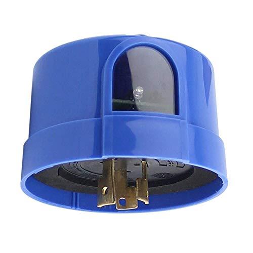 LEDMO Photocell Sensor, IP65 Waterproof Automatic Auto On Off Photocell Street Light Sensor Switch, twist Lock Light Sensor with Photocell, Outdoor Twist Lock Photocell Light Sensor for Parking Lights