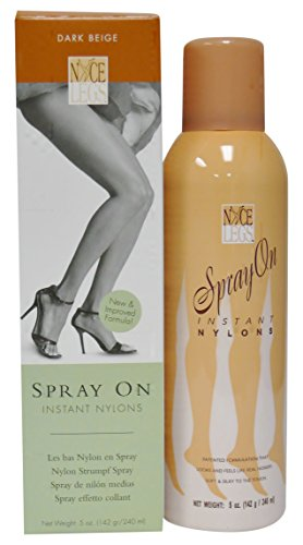 Nyce Legs Spray On Instant Nylons, Dark Beige, 5 Ounce