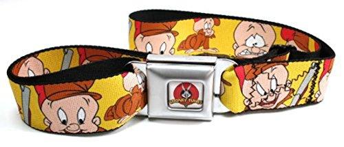 looney-tunes-seatbelt-belt-elmer-fudd-expressions-yellow