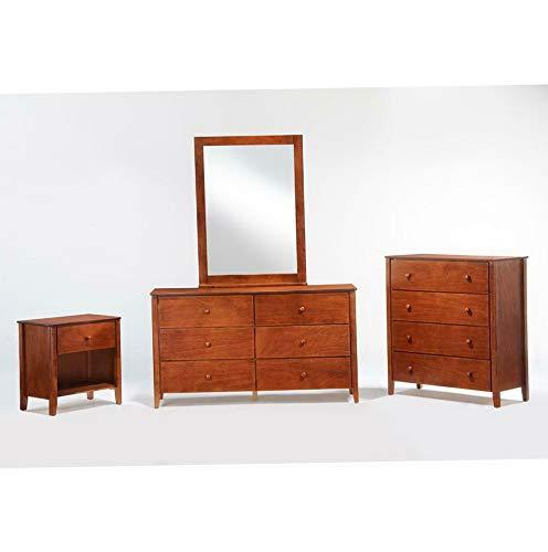 Endicot Mirror in Cherry Finish | Model DRSSR - 25