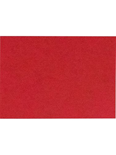 (#17 Mini Flat Card (2 9/16 x 3 9/16) - Ruby Red (50 Qty.) | Perfect for Personal Stationery, Business Correspondence, Invitation Inserts, and more! | EX4080-18-50)