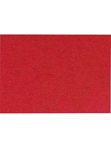 #17 Mini Flat Card (2 9/16 x 3 9/16) - Ruby Red (50 Qty.)