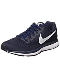 Nike Men's Air Zoom Pegasus 34 Obsidian/White/Netral/Indigo Running Shoe 8.5 Men US