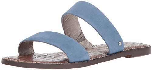 Sam Edelman Women's Gala Slide Sandal, Denim Blue, 11 M US