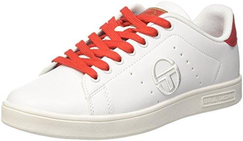 Mix Hombre Blanco Gran Sergio Tacchini Para Zapatillas red Torino 02 white tUaYqw1