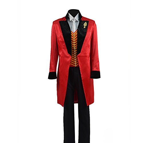 Expeke Boys The Barnum Costume Kids Greatest Show Costume Children (Boys 8, Black Fullset) ()