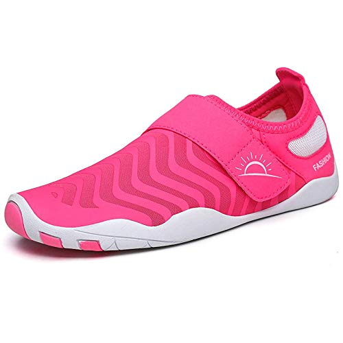 Anddoa Outdoor Female Water Sneakers Shoes Breathable Lightweight Swimming Diving Wading Beach Shoes - 39-40 Moon