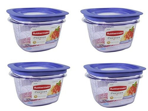2 cup container plastic - 5