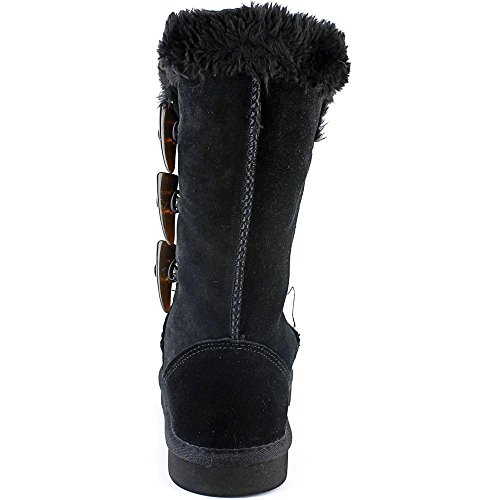 Style & Co Bellaa Women US 7 Black Winter Boot mFv3LeJ7