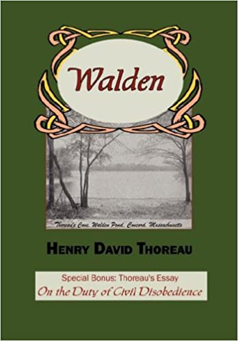 Amazoncom Walden With Thoreaus Essay On The Duty Of Civil  Amazoncom Walden With Thoreaus Essay On The Duty Of Civil Disobedience   Henry David Thoreau Books