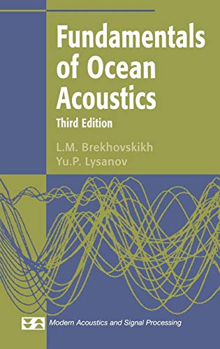Fundamentals of Ocean Acoustics (Modern Acoustics and Signal Processing)
