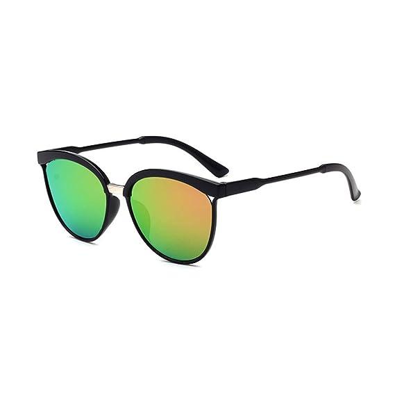 Worsworthy Gafas de Sol de Caja Grande Huecas de Moda Hombres Mujeres Cuadrados Gafas de Sol Con Espejo Vintage Gafas Para Deportes Al Aire Libre ...