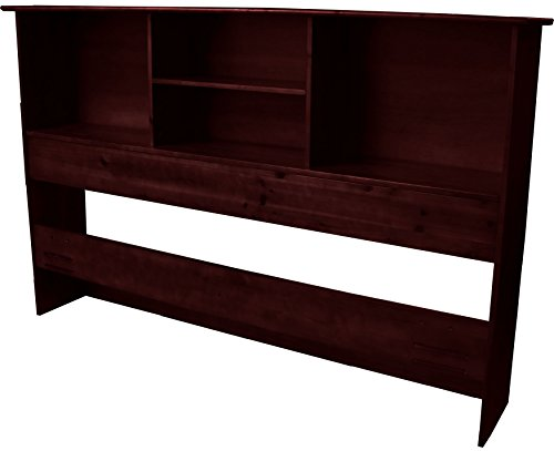 Stockholm Bamboo Solid Bookcase Headboard, Full/Queen-size, Mahogany ()