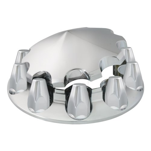 (Grand General 40182 Chrome ABS Front Axle Cover Set)