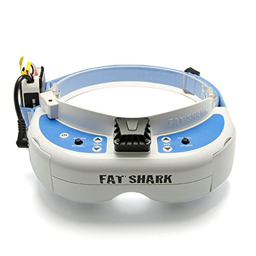 Fatshark Dominator V3 FPV Video Goggles Glasses WVGA 720p HDMI 800X480