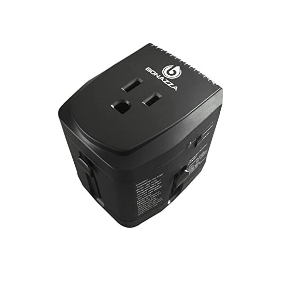 Bonazza 2000w Universal World Travel Adapter And Converter