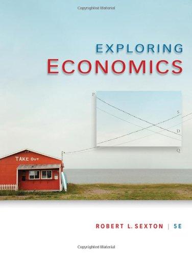 Exploring Economics (Available Titles CourseMate)