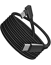 Milue 5 m/5 metros VR Link Cabo USB C Oculus Quest 2 Alta Velocidade Transferência de Dados Cabo de Carregamento Rápido Vr Link Cable Quest 2