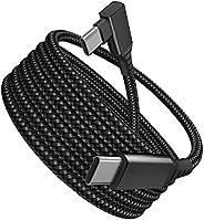 Milue 5 m/5 metros VR Link Cabo USB C Oculus Quest 2 Alta Velocidade Transferência de Dados Cabo de Carregamen