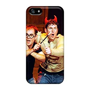 Bumper Cell-phone Hard Covers For Iphone 5/5s (ZhS15972LcvD) Unique Design Realistic Mcfly Band Series