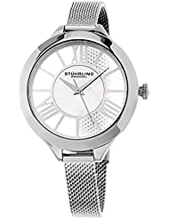 Stuhrling Original Womens 5951 Winchester Stainless Steel Watch With Mesh Bracelet