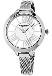 Stuhrling Original Women's 5951 Winchester Stainless Steel Watch With Mesh Bracelet
