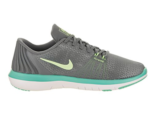 NIKE Womens Flex Supreme TR 5 Cross Training Shoe Cool Grey/Barely Volt/Aurora Green/White OQHzvbsr6o