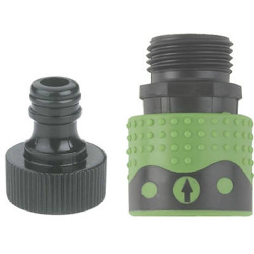 39QCGT Green Thumb Poly Quick Faucet Connector Set for (Hose Connection Set)
