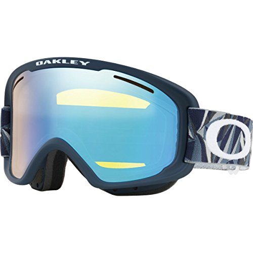 Oakley OO7066-45  O-Frame 2.0 XM Snow Goggles, Facet Iron Fathom Frame, High Intensity Yellow Lens, Medium