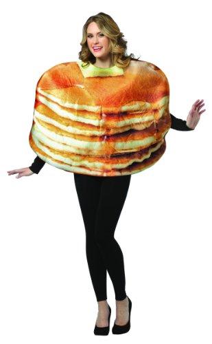 Rasta Imposta Get Real Stacked Pancakes, Brown, One (Waffle Costume)