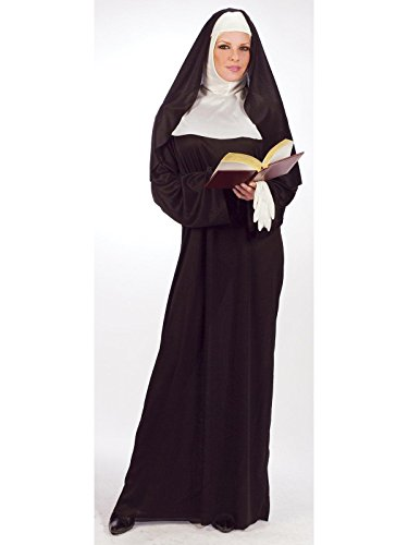 40's Themed Costumes (Morris Women's Mother Superior Costume One Size Black)