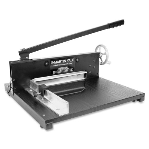 (Martin Yale 7000E Paper Cutter, Commercial 200-Sheet Stack, 12