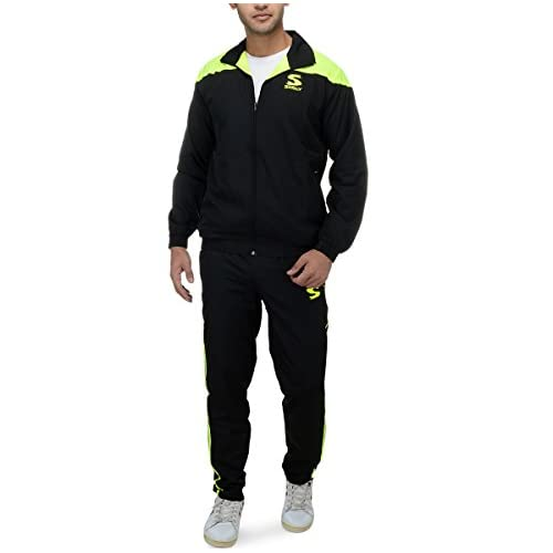 41yRdTc2qqL. SS500  - SURLY Men's Polyester Track Suit
